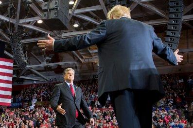 Sean Hannity White House Desk
