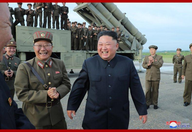 north korea kim jong un rocket test