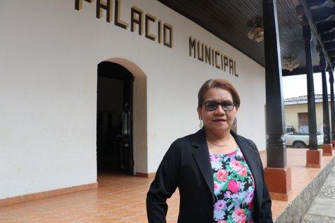 Deputy Mayor María Lastenia Ayala