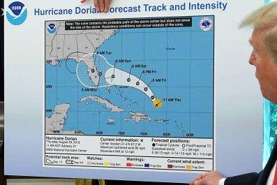 Donald Trump, Hurricane Dorian