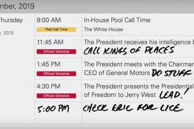 jimmy kimmel mocks trump schedule