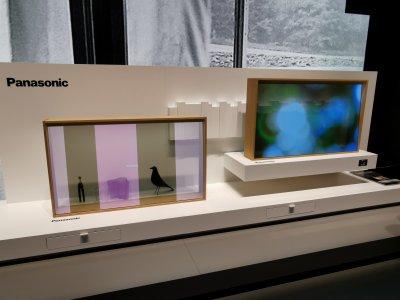 Panasonic Transparent OLED TV prototype
