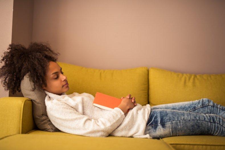 sleep, nap, sofa, reading, stock, getty,
