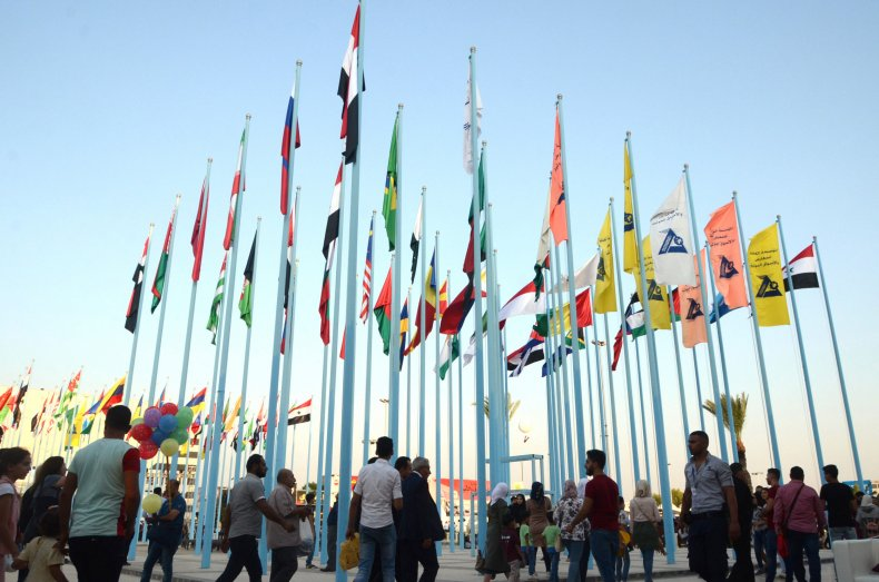 syria damascus international fair sanctions trade