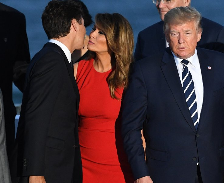John Legend Jokes Melania Is 'Occupied' With Justin Trudeau After President's 'Filthy Mouthed Wife' Attack on Chrissy Teigen
