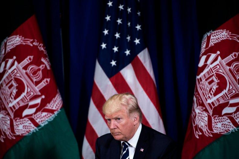 Donald Trump, Afghanistan, Taliban