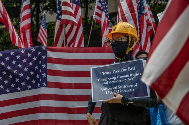Hong Kong, US, bill, Congress, human rights