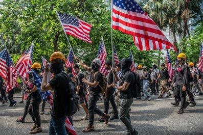 US, China, independence, crush, Hong Kong