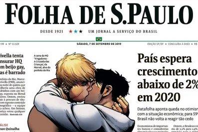 Folha de S. Paulo front page