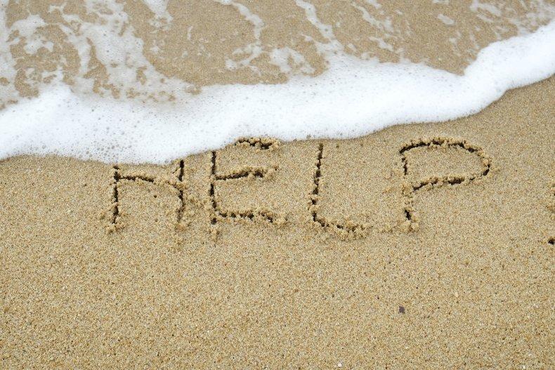 Suicide Prevention Beach Help