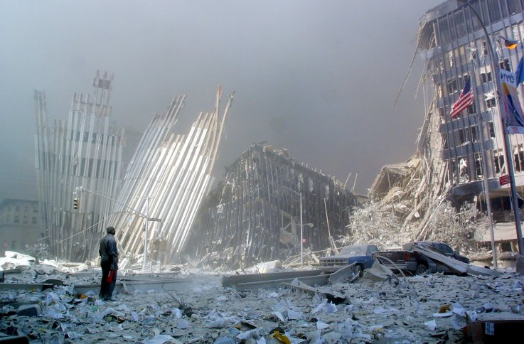 9/11 september 11 attacks twin towers photos