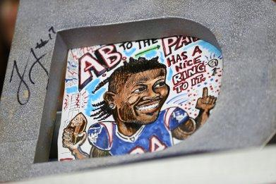 Antonio Brown Patriots