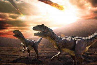 dinosaur asteriod