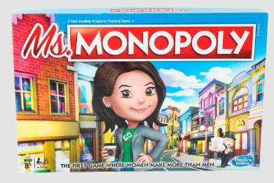 Not Everyone is Amused With Ms. Monopoly