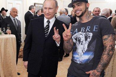 Putin and Timati