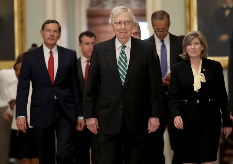 Senate GOP still waiting on Trump guns