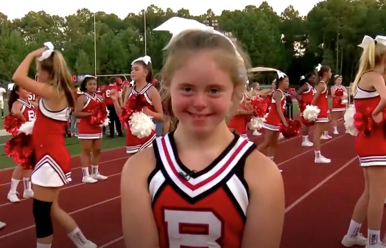 Cheerleader With Down Syndrome Is A Beacon Of School Spirit For