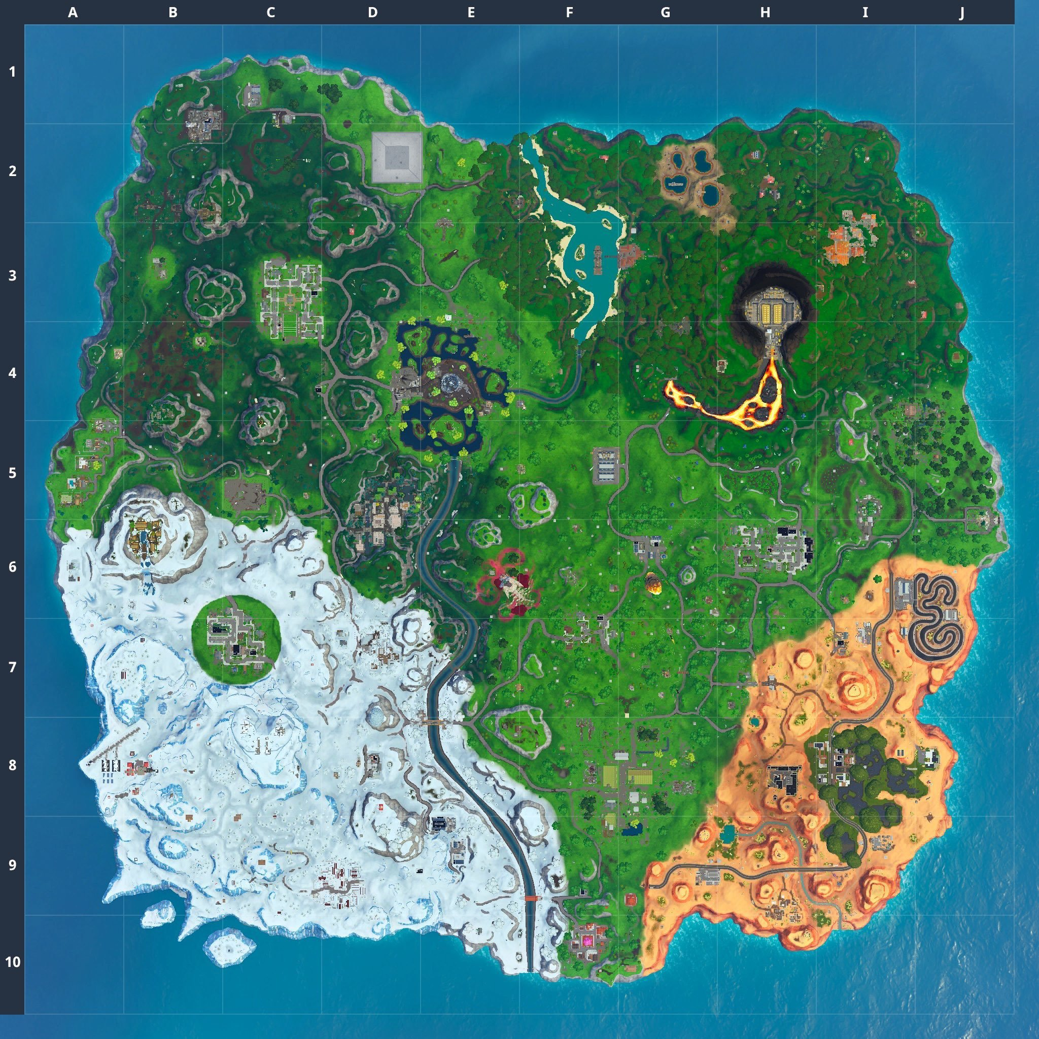 'Fortnite' Update 10.30 Adds Moisty Palms, Greasy Grove & Tactical SMG - Patch Notes