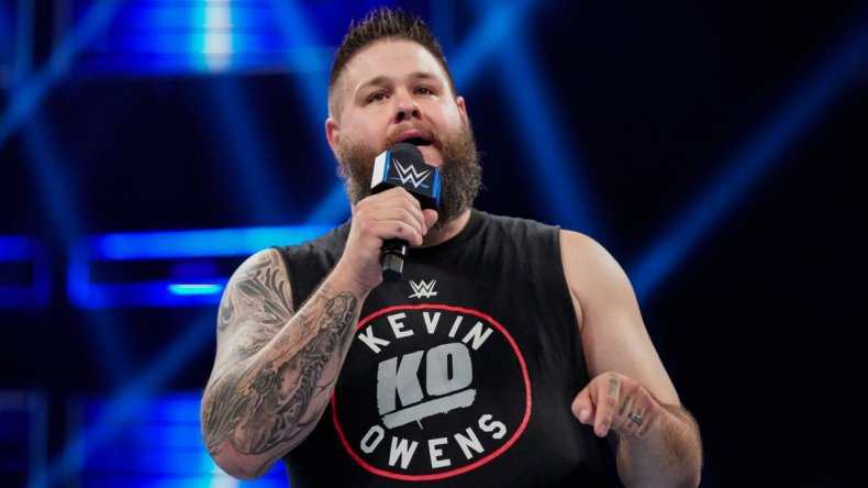 kevin owens smackdown live wwe mic