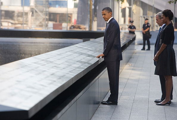 Trump slammed for posting photo of himself on 9/11 anniversary, but Obama did it too