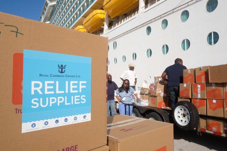 Bahamas, relief supplies