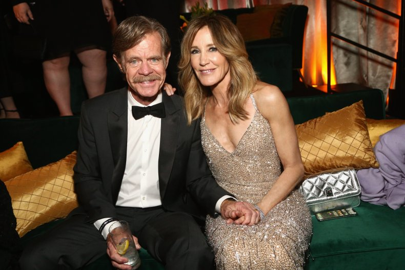 felicity huffman william macy letter college scandal