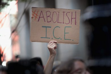 Abolish ICE poster
