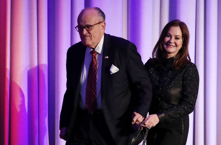 Rudy Giuliani's Wife Bashes Husband Amid Divorce: 'The Hero of 9/11 Has Become a Liar'