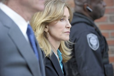 felicity huffman college admission scandal sentencing