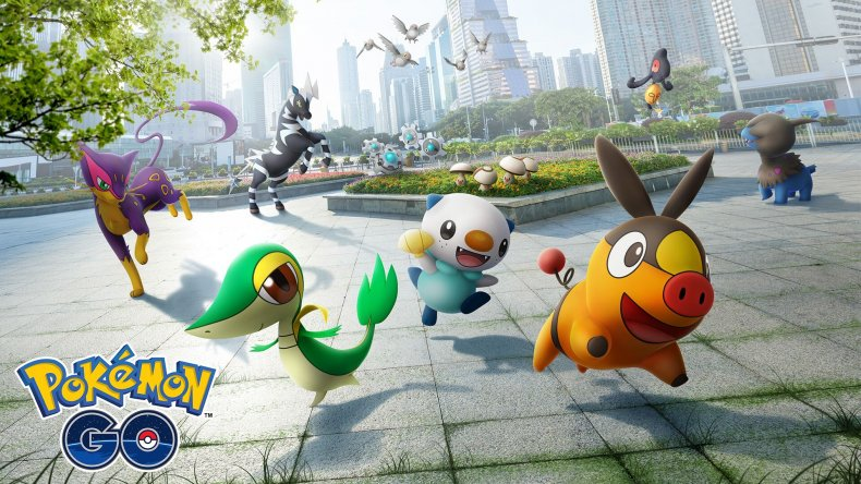 pokemon go unova gen 5 update