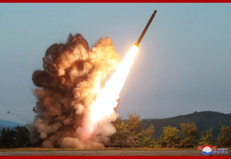 north korea rocket test launch september