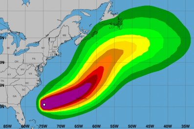 hurricane humberto path bermuda weather
