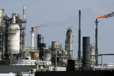 Texas oil refinery