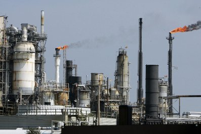 Texas oil refinery
