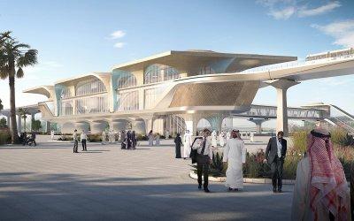 Metro of Doha