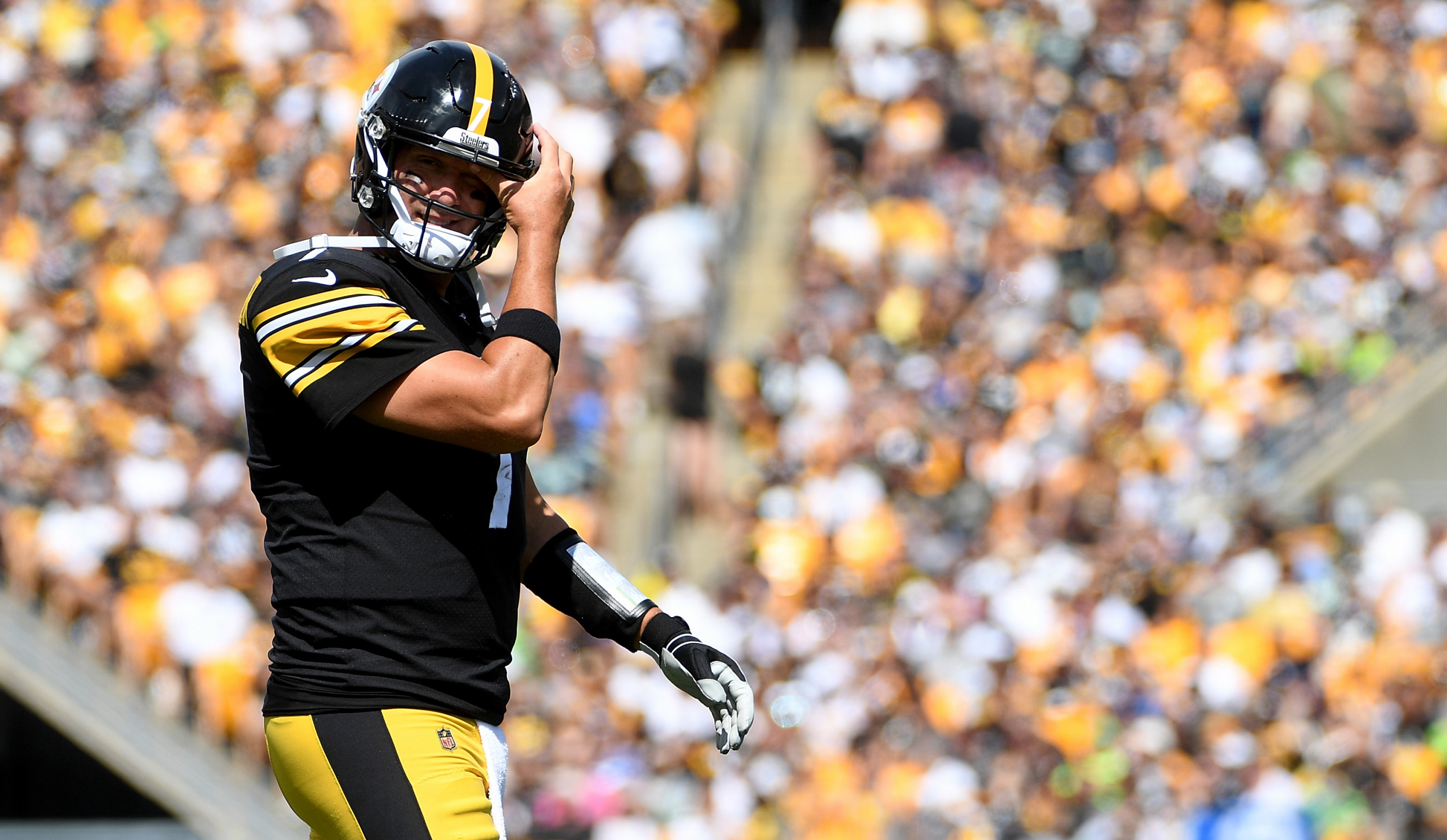 finest selection 660d1 9d934 Ben Roethlisberger Injury News: Will Pittsburgh Steelers ...