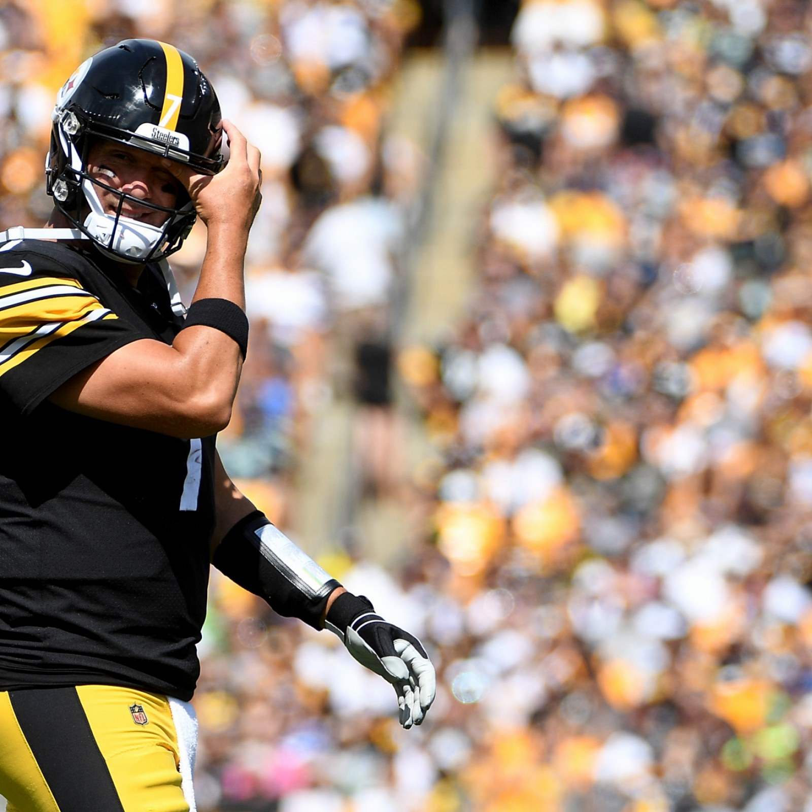 finest selection f90dc 51c3e Ben Roethlisberger Injury News: Will Pittsburgh Steelers ...