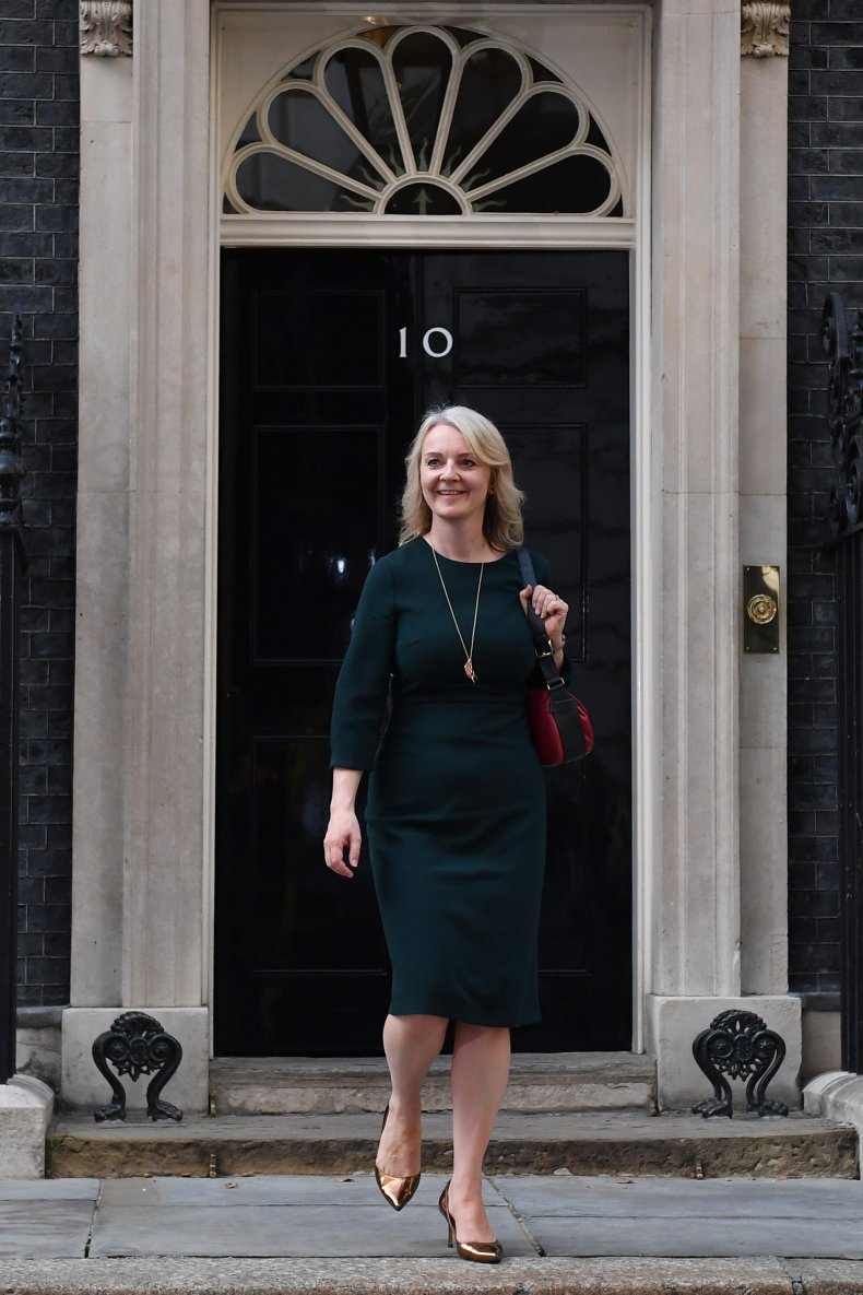 Liz Truss UK Secretary of State Trade
