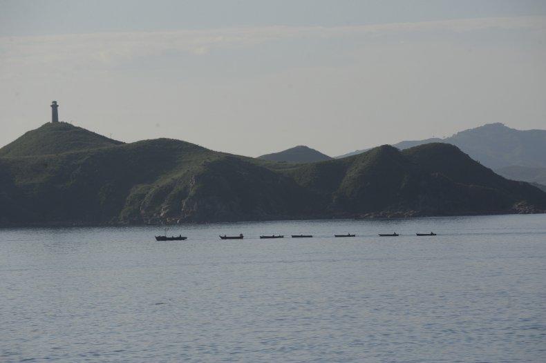 north korea fishing vessels