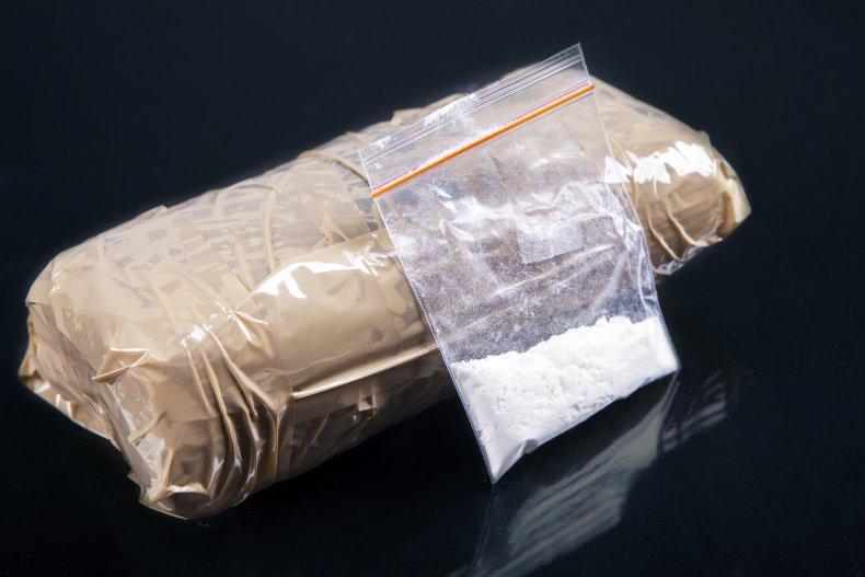 Bags full of white powder