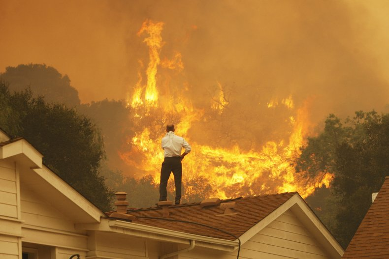 Camarillo, California, Wildfire, climate change, getty