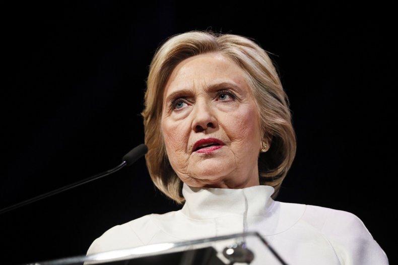 Hillary Clinton 2020 Democratic Party Nomination