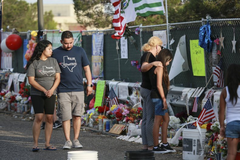 El Paso Mourns Victims Of Mass Shooting That Killed 22 And Wounded Dozens