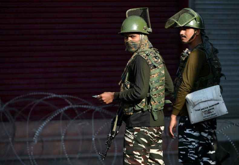 india kashmir crackdown pakistan border