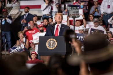 trump, rally, MAGA, New Mexico, President