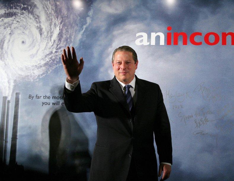 Al Gore, An Inconvenient Truth, 2006, getty,