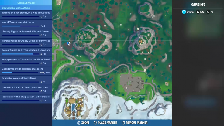fortnite time trial location snobby
