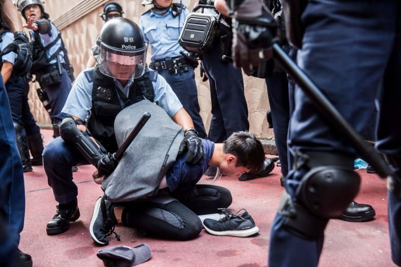 Hong Kong, police, torture, protesters, Amnesty