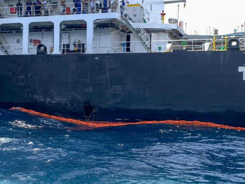 japan oil tanker attack gulf oman