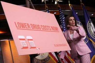 democrats prescription drug costs trump progressives